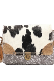 Myra Bags Snowy Fusion Messenger - Side cropped