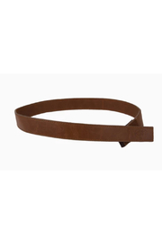 Myself Belts Leather - Front cropped