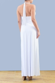 Myskova Swarovski Albahacar Long Dress - Front full body