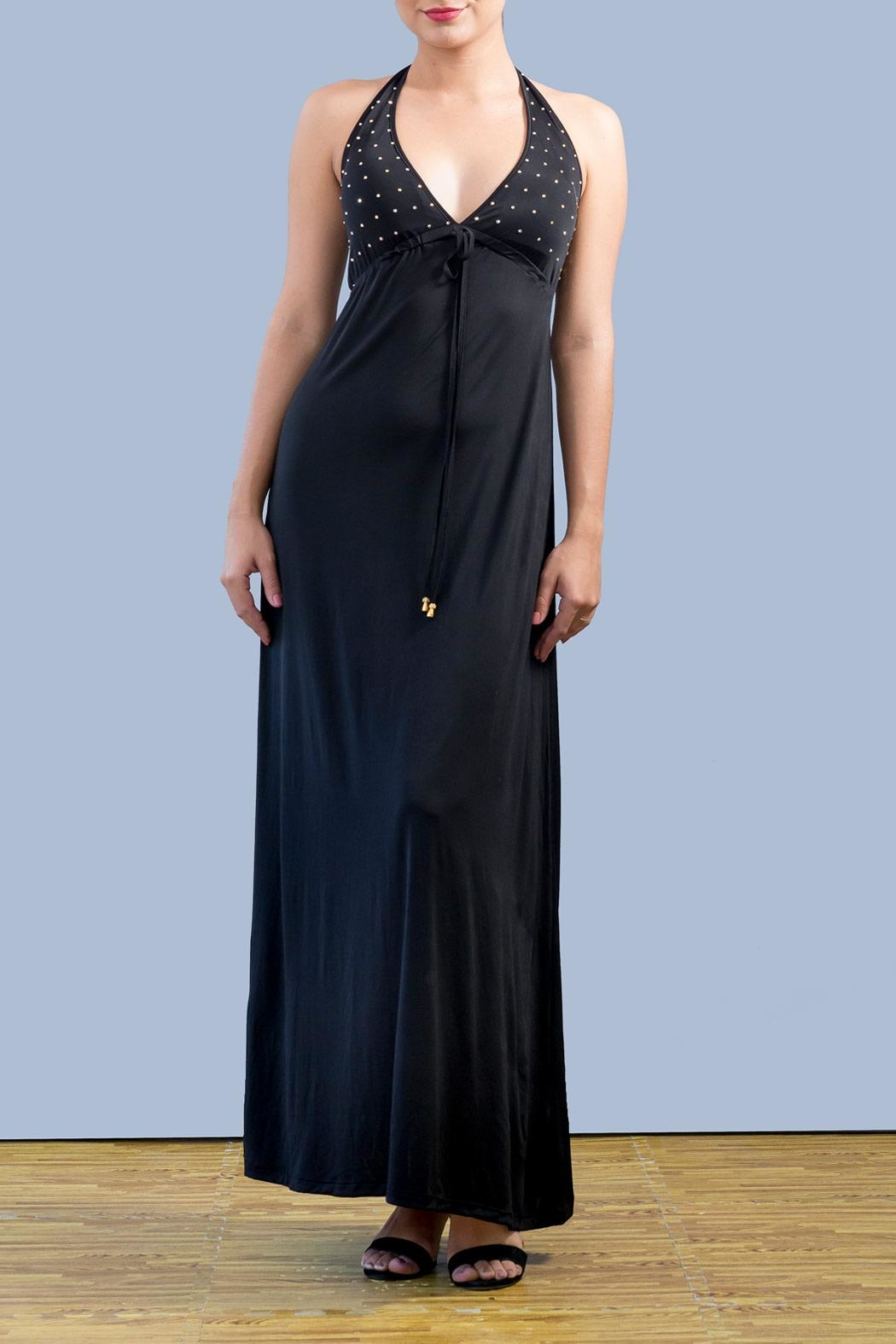 Myskova Swarovski Albahacar Long Dress - Main Image