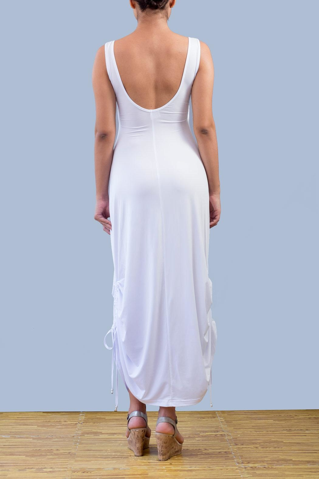 Myskova Swarovski Alcatraz Long Dress - Front Full Image