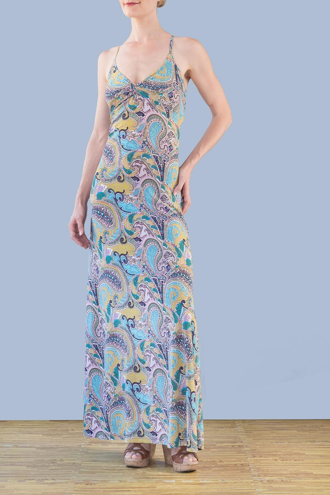 Myskova Daffodil Long Dress - Main Image