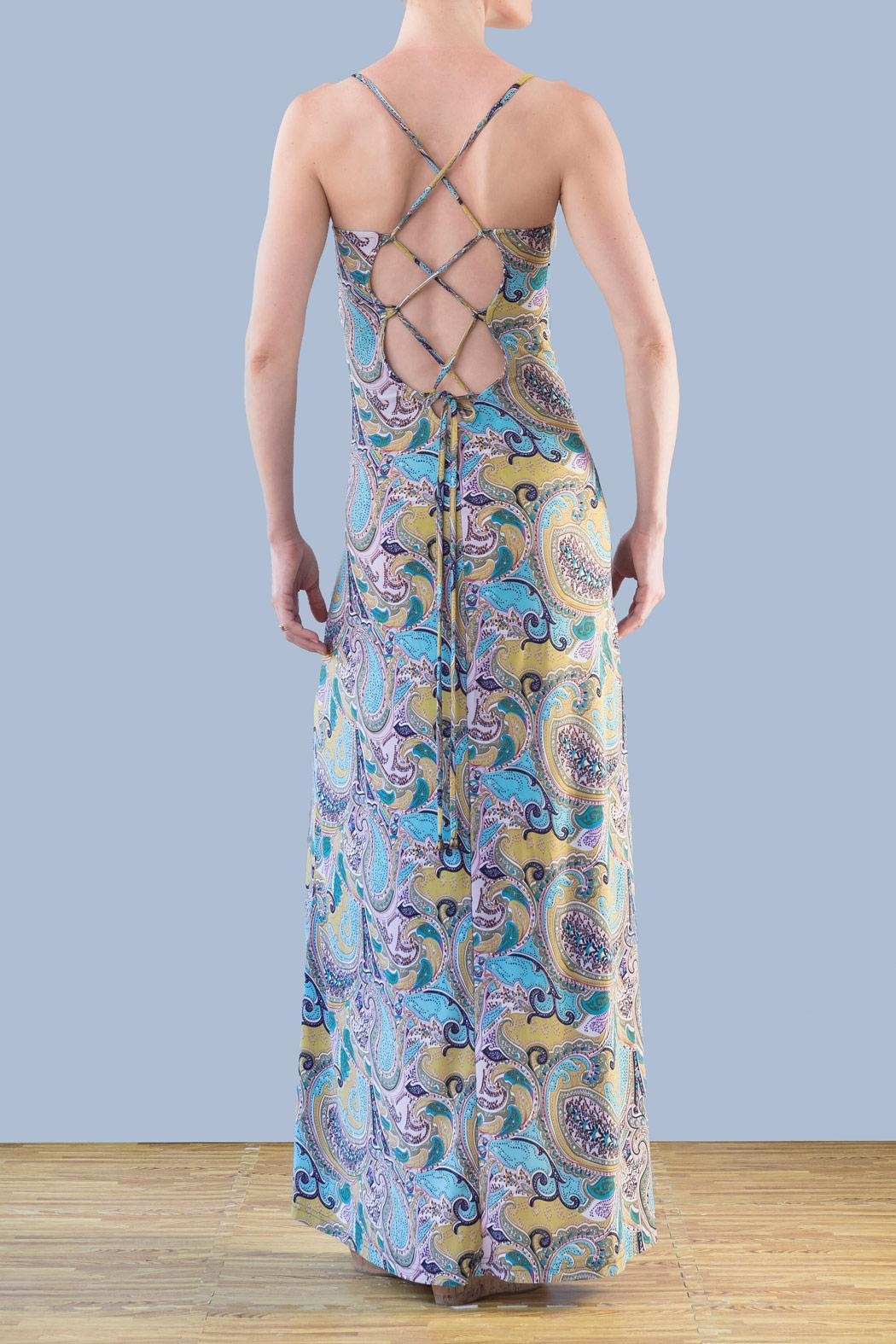 Myskova Daffodil Long Dress - Front Full Image