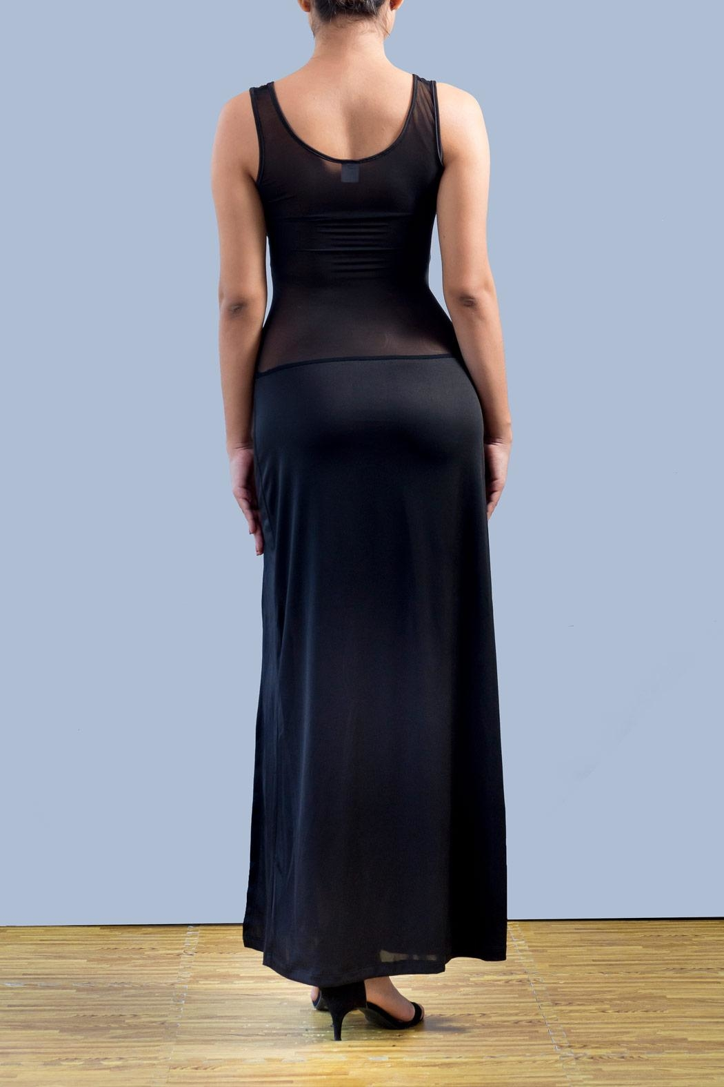 Myskova Gardenia Long Dress - Front Full Image