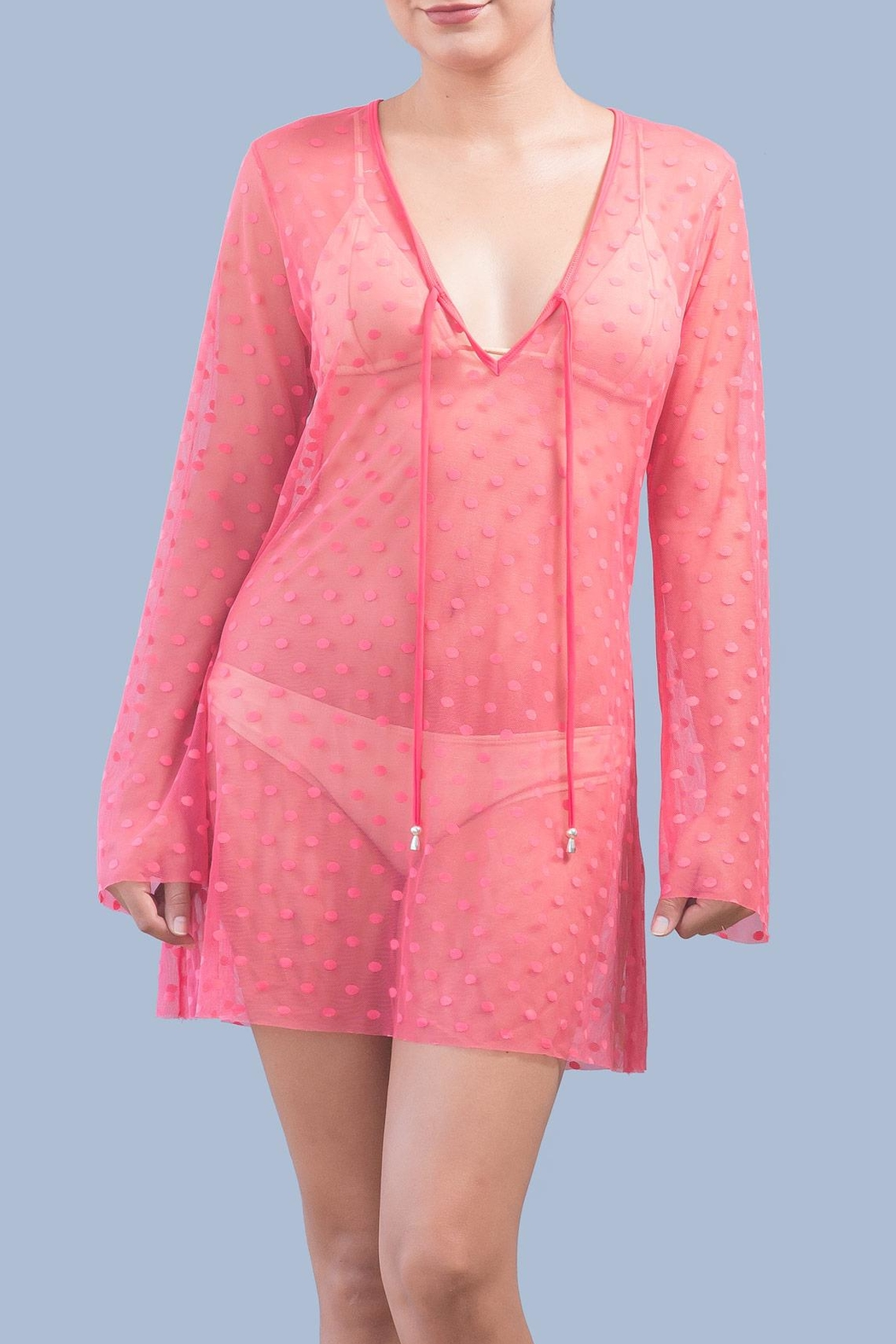 Myskova Heidi Coral Cover Up - Main Image