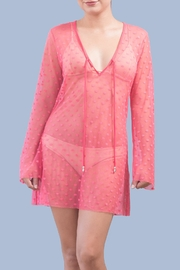 Myskova Heidi Coral Cover Up - Product Mini Image