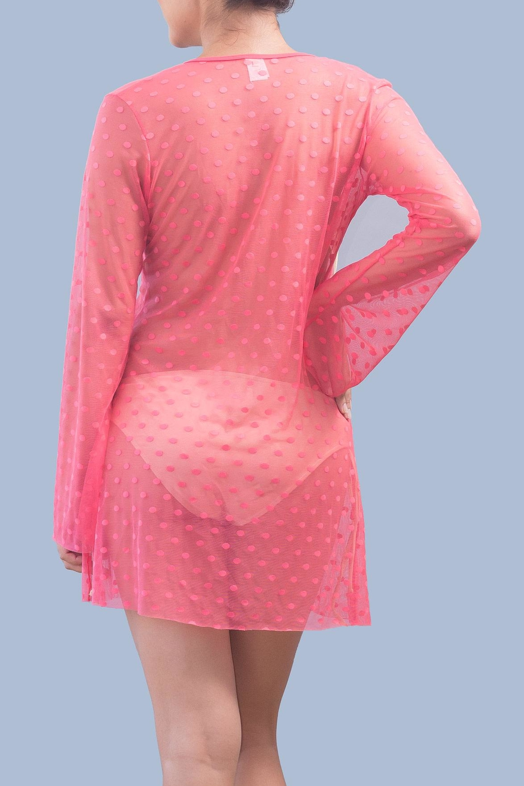 Myskova Heidi Coral Cover Up - Front Full Image