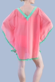 Myskova Julie Coral Cover Up - Front full body