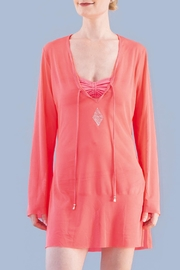 Myskova Heidi Coral Top - Product Mini Image