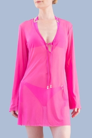 Myskova Pink Heidi Top - Product Mini Image