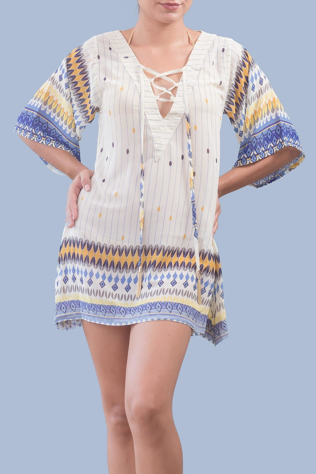 Myskova Jack Light Tunic Top - Front Cropped Image