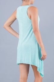 Myskova Blue Jamaica Cover Up - Back cropped
