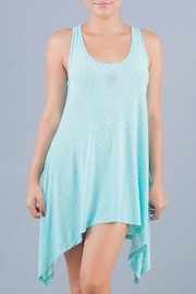 Myskova Blue Jamaica Cover Up - Product Mini Image