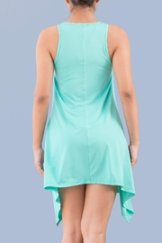 Myskova Jamaica Blue Top - Front full body