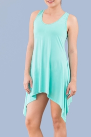 Myskova Jamaica Blue Top - Front cropped