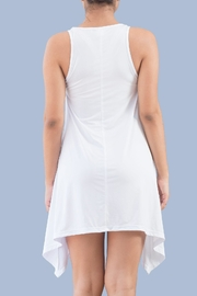 Myskova Jamaica White Top - Front full body