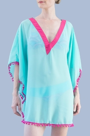 Myskova Julie Aqua Cover Up - Front cropped