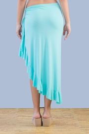 Myskova Long Olan Pareo Cover Up - Front full body