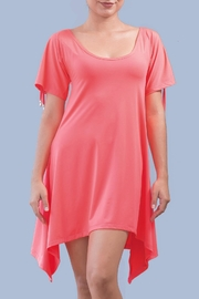 Myskova Manzana Coral Dress - Product Mini Image