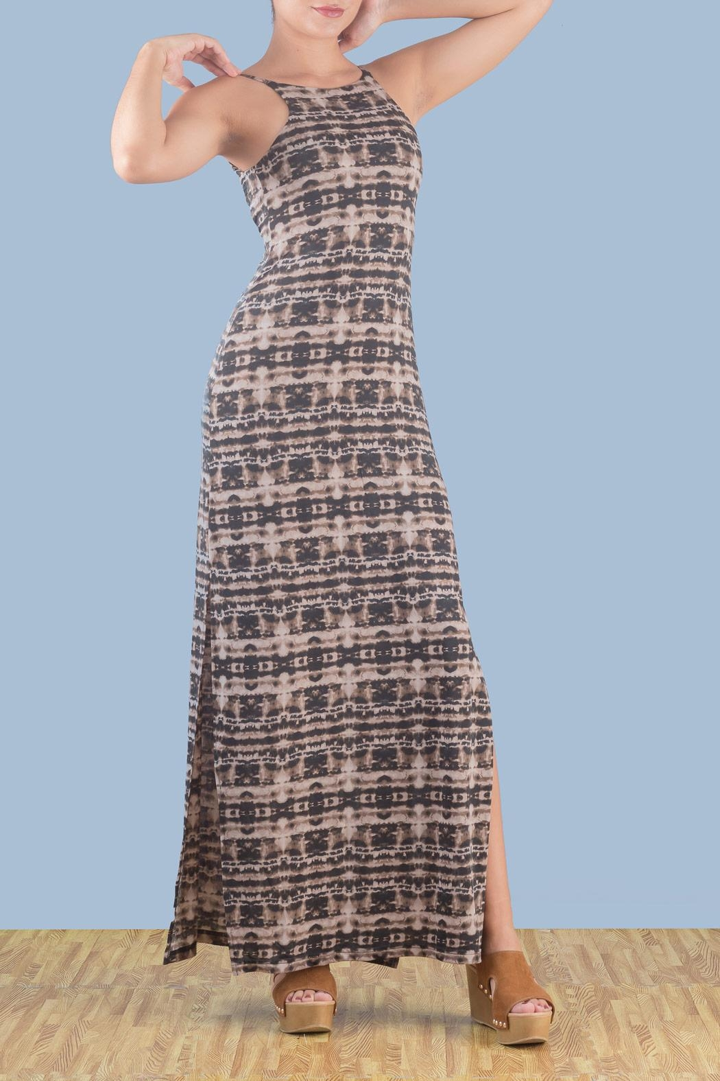 Myskova Platano Long Dress - Main Image