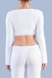 Myskova Roberta Bolero Top - Back cropped