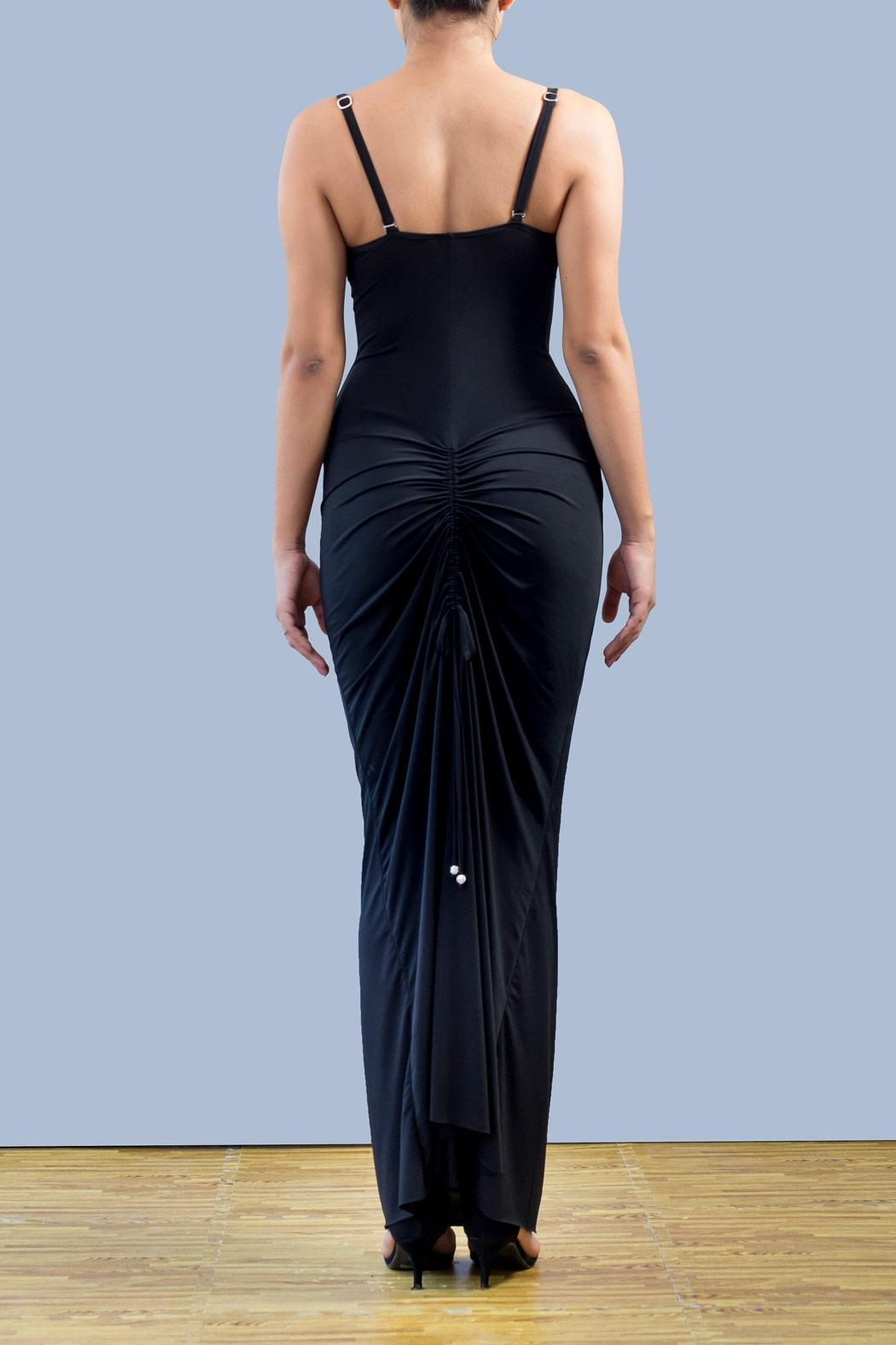Myskova Swarovski Roxi Long Dress - Front Full Image