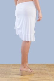 Myskova Short Olan Pareo Cover Up - Front full body