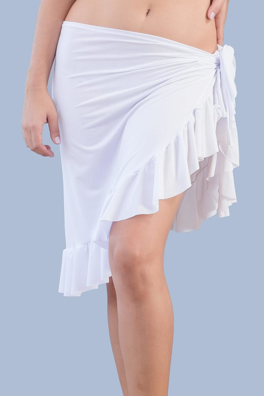 Myskova Short Olan Pareo Cover Up - Front Cropped Image