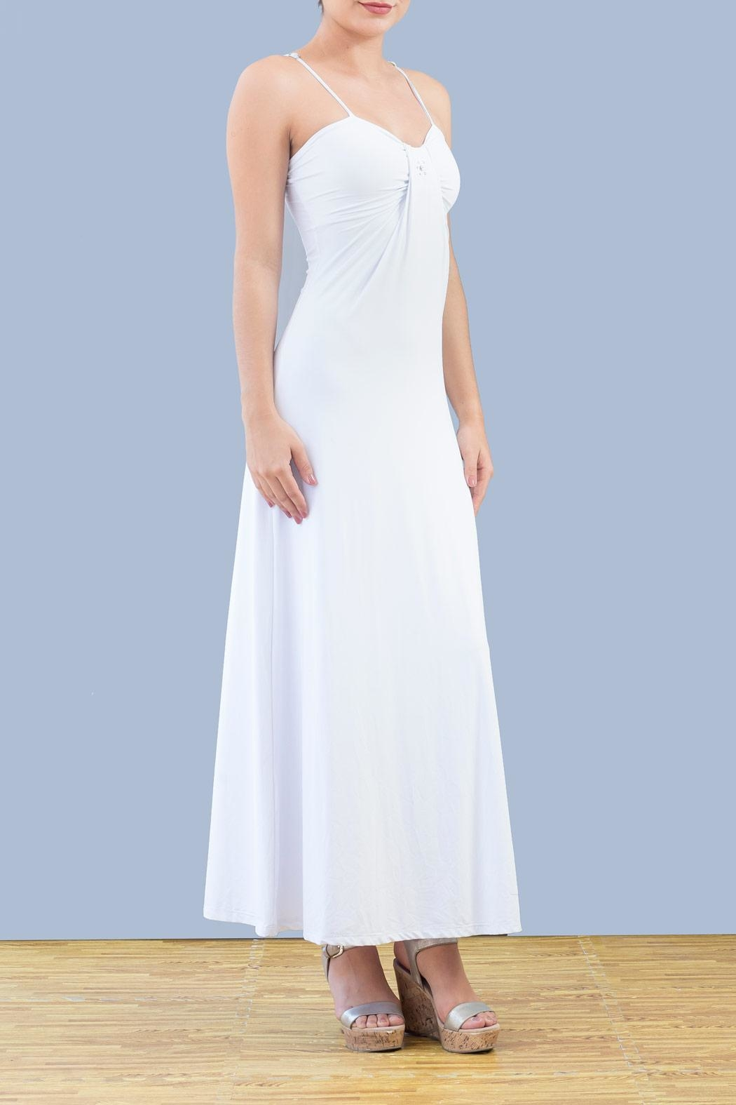 Myskova Swarovski Sophia Long Dress - Main Image