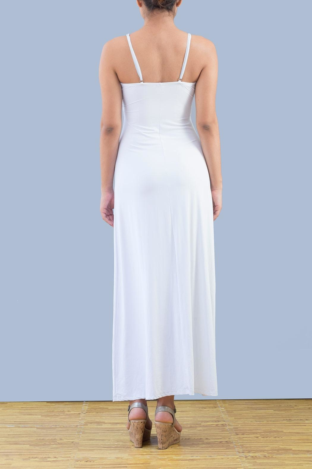 Myskova Swarovski Sophia Long Dress - Front Full Image