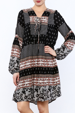 Mystery A-Line Pattern Dress - Product List Image