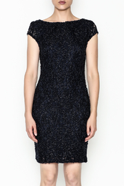 Mystic Beaded Cap Sleeve Dress - Front full body