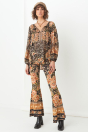 Hippie Pants, Jeans, Bell Bottoms, Palazzo, Yoga Mystic Bells $119.00 AT vintagedancer.com