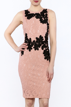 Shoptiques Product: Crochet And Embroidered Dress