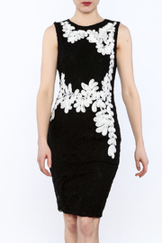 Mystic Crochet And Embroidered Dress - Product Mini Image