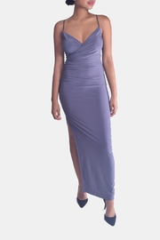 Mystic Drape-Front Maxi Dress - Product Mini Image