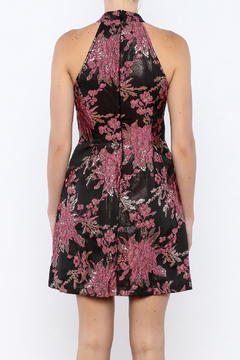 Shoptiques Product: floral hi neck dress