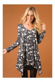 Simply Noelle Mystic-Garden Cold-Shoulder Top - Product Mini Image