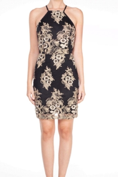 Shoptiques Product: Gold Floral Dress