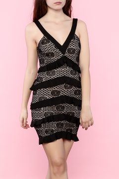 Shoptiques Product: V-Neck Lace Dress