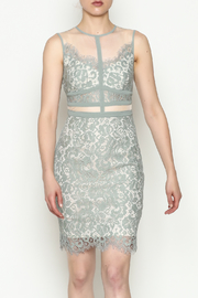 Mystic Lace Mesh Dress - Product Mini Image