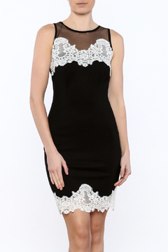 Mystic Mesh And Crochet Dress - Product List Image