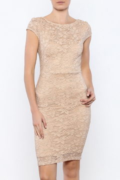 Shoptiques Product: Mesh And Glitter Dress
