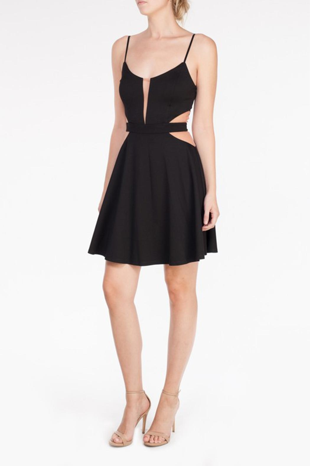 Mystic Mesh Cutout Dress - Main Image
