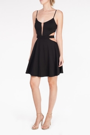 Mystic Mesh Cutout Dress - Product Mini Image