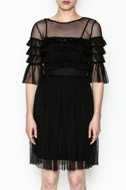 Mystic Mesh Detail Dress - Product Mini Image