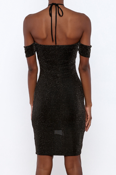 Shoptiques Product: Metallic Halter Dress