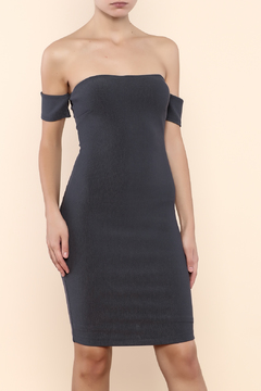 Mystic Off Shoulder Bodycon Dress - Product List Image
