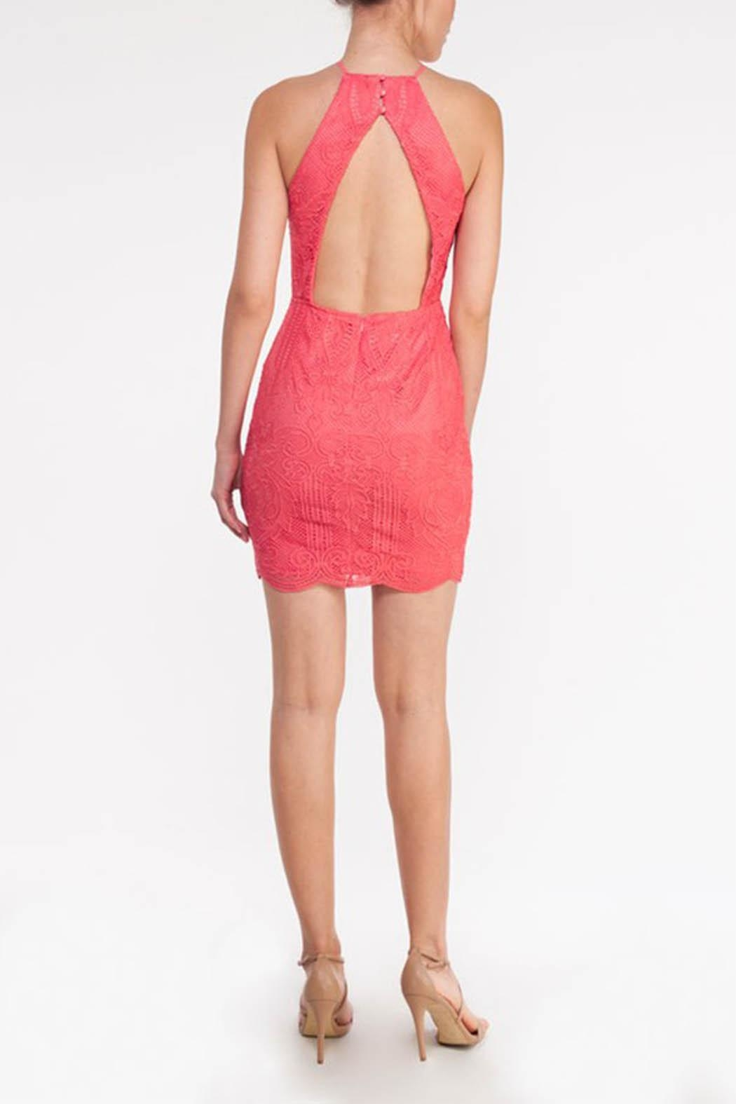 Mystic Open Back Dress - Front Cropped Image