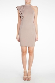 Mystic Ruffle Bodycon Dress - Front cropped
